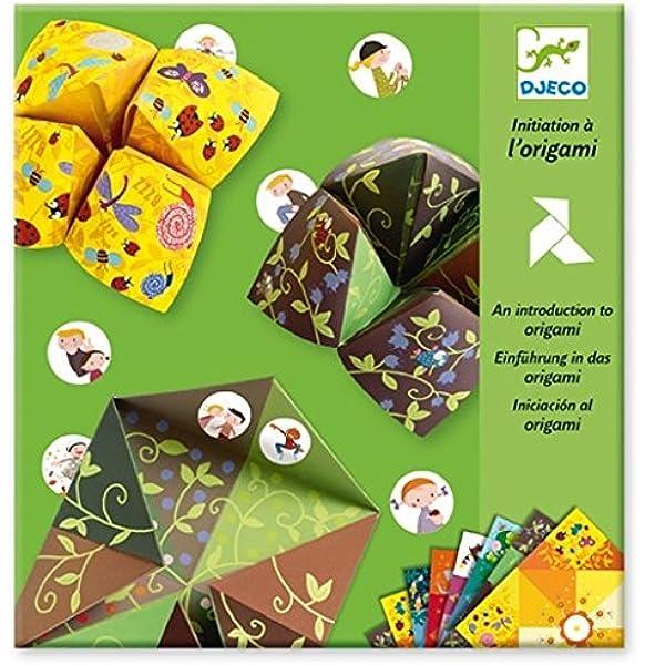 Djeco 599386031 - Papiroflexia origami iniciación , color/modelo surtido: Amazon.es: Juguetes y juegos