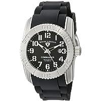 Swiss Legend Men's 11876A-TI-01-W Commander Analog Display Swiss Automatic Black Watch