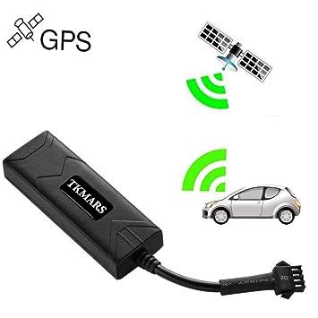 Hangang Rastreador GPS para Coche en Tiempo Real con GPS antirrobo, rastreador GPS Mini gsm GPRS SIM GPS navegación GPS Externa con aplicación