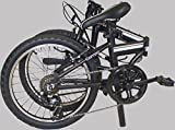EuroMini Campo 28lb Lightweight Aluminum Frame Shimano 7-Speed Folding Bike 20-Inch