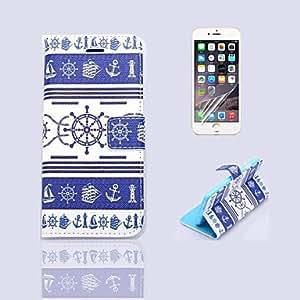 Carcasas de Cuerpo Completo - Gráfico/Diseño Especial - para iPhone 6 Cuero PU )