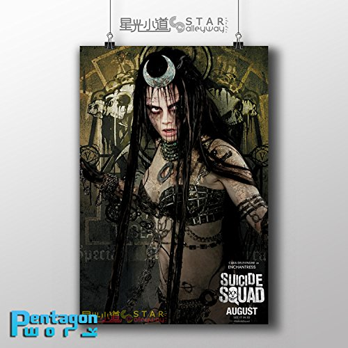 SUICIDE SQUAD June Moone Enchantress Movie Poster 034, 8x12
