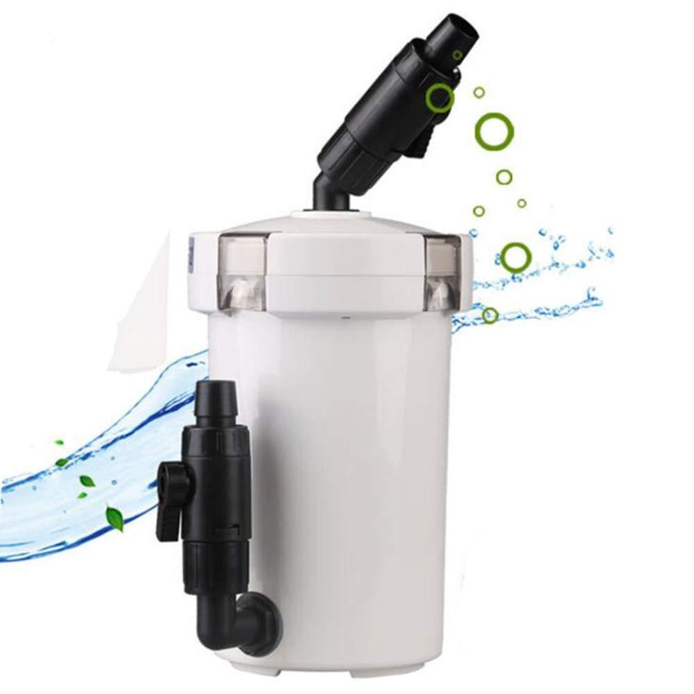 602 X&MX Aquarium Filters,Ultra-Quiet Aquarium Filter Bucket 400L H Built-In Small 6W Pump,602 [Energy Class A],602