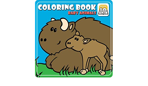 Amazon Coloring Book 10 Baby Animals Download Software
