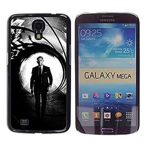 iKiki Tech / Estuche rígido - Daniel Craig Bond - Samsung Galaxy Mega 6.3