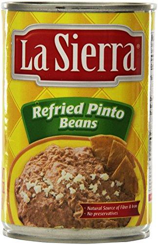 La Sierra Refried Beans, 15.2 Ounce (Pack of 12) by La Sierra