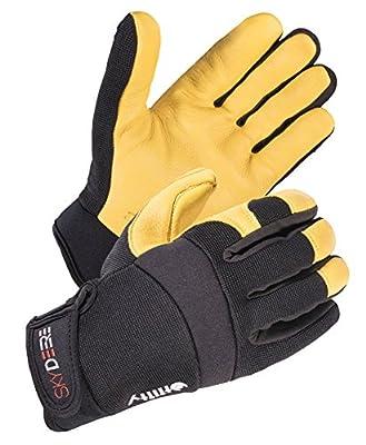SKYDEER Deerskin Leather Hi-Performance Utility Driver Work Glove (SD2210&SD2250)