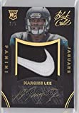 Football NFL 2014 Black Rookie Team Symbols Black Gold #11 Marqise Lee RC Rookie MEM 2/5 Jaguars