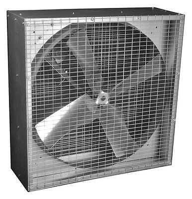 DAYTON 44YU10 Exhaust Fan, 36In, Belt Drive Less Motor ()
