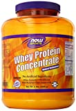now foods whey protein unflavored - NOW Sports Whey Protein Concentrate Unflavored Powder,5-Pound