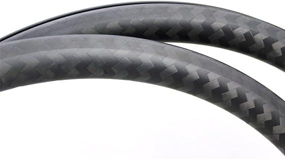 Yuanan Llanta de carbono para bicicleta de carretera, 38 mm ...