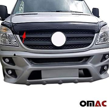 OMAC USA Mercedes Benz FREİGHTLİNER Sprinter W906 2013 Front Bug Shield Hood Deflector Guard Protector V2