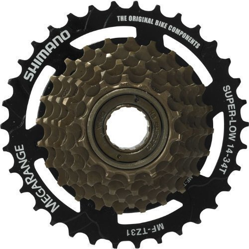 Shimano Tourney 7 SEVEN Speed Screw on Bicycle Freewheel 14/34T by Shimano