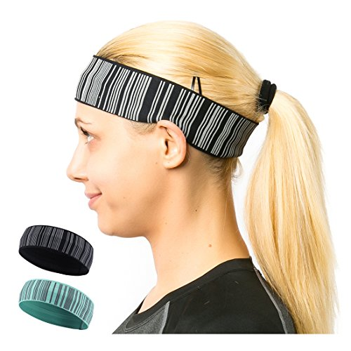 samfavo Reflective Elastic Exercise Headband product image