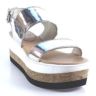 hot sale online 4b641 1c171 Gadea Women's Fashion Sandals Silver Silver: Amazon.co.uk ...