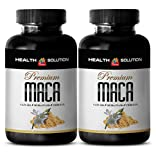 increase female libido - MACA PLUS 1300MG - maca extract capsules - 2 Bottles (120 Tablets)