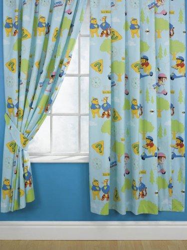 7fabef73ae1f Winnie The Pooh Curtains  Super Sleuths  Design 72
