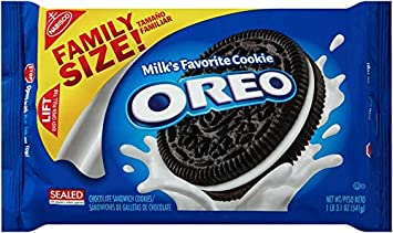 Oreo Chocolate Sandwich Cookies, Family Size, 19.1 Ounce