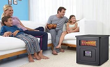 Joal - Top Shop - Estufa ecológica con 3 modos de uso: alto, bajo y económico, 800 - 1600 W: Amazon.es: Hogar