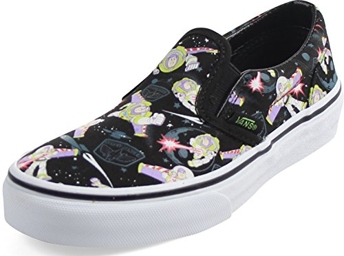Vans Kids Classic Slip-on (Toy Story) Bzzlgtyr/Trwht Skate Shoe 12.5 Kids US
