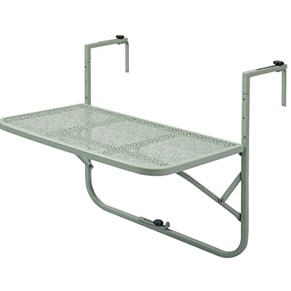 Mesa plegable/Mesa suspendida/Regulable en altura/Balcón. Mesa ...