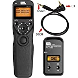 PIXEL TW-283/E3 LCD Wireless Shutter Release Timer Remote Control for Canon by Pixel