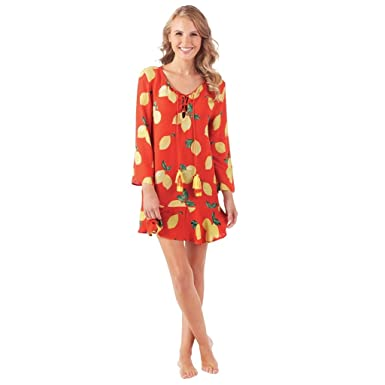 1e10c4028b Mud Pie Women's Flamingo Tenley Tassel Cover-Up Poppy Red at Amazon ...