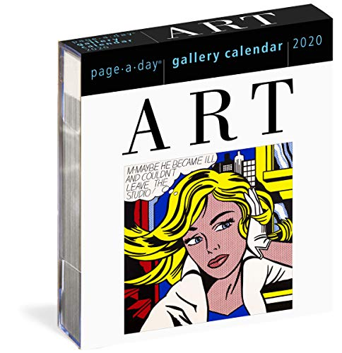 Art Page-A-Day Gallery Calendar 2020