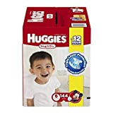 Kimberly-Clark 43099 Huggies Snug & Dry Diaper, Step 6, Mc Plus (Pack of 144)