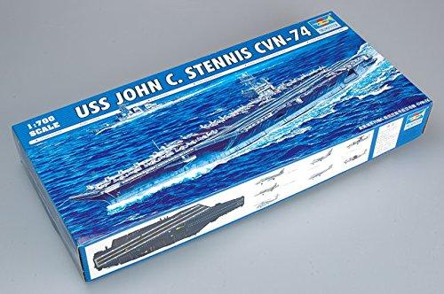 - Trumpeter USS John C Stennis CVN74 Aircraft Carrier (1/700 Scale)