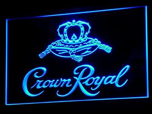 Amazon.com: Crown Royal Whisky Cerveza Barra de luz de neón ...