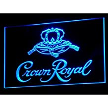 Crown Royal Whiskey beer Bar LED Neon Light Sign Man Cave A104-B
