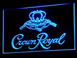 Crown Royal Whiskey Beer Bar LED Neon Light Sign