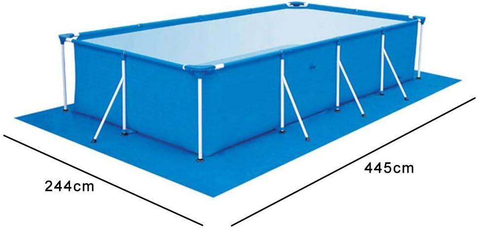 Adminitto88 Tapis De Sol pour Piscine avec Multi Polyvalent Bleu Imperm/éable Poly Couverture De B/âche Couverture Tapis De Sol Parfait pour Les Randonneurs De Camping Abri Ombre Couverture