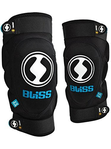Bliss Protection Vertical Knee Pad Black/Blue, XL by bliss