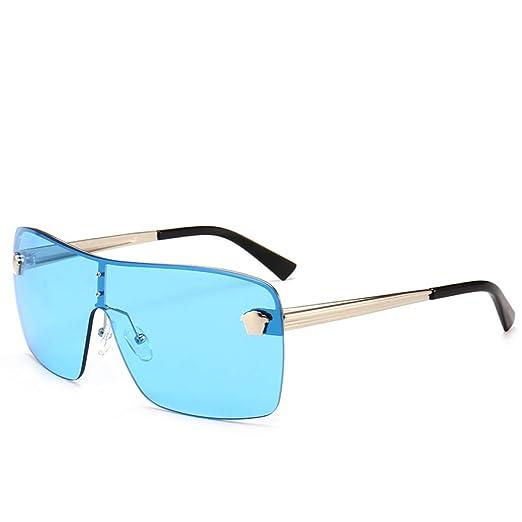 Yangjing-hl Las Gafas de Sol de una Pieza Trend One Son ...