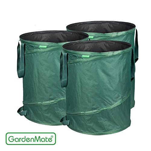 gardenmate-3-pack-43-gallons-pop-up-garden-waste-bags-collapsible-spring-bucket-collapsible-containe