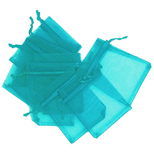 LEFV™ Organza Bags Sheer Drawstring Pouches Jewelry Weddin
