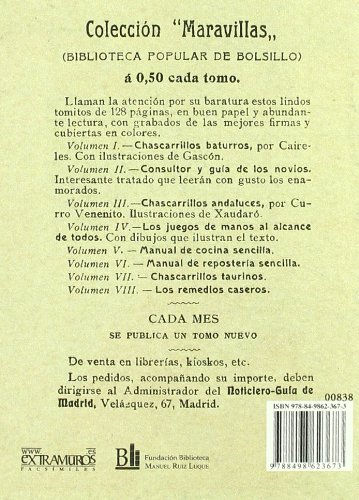 Manual de reposteria sencilla (Facsimile edition) (Spanish Edition): Luz Martin: 9788498623673: Amazon.com: Books