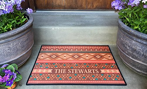 Personalized Outdoor Welcome Mat