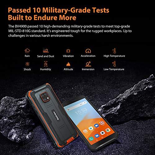 Blackview BV4900 Téléphone Portable Incassable,Écran 5,7' Batterie 5580mAh, Charge Inverse, Smartphone IP68 Étanche… 2