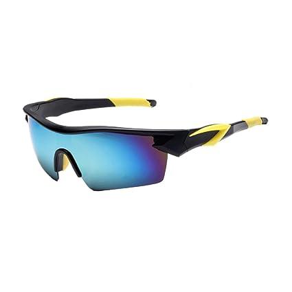 b4bf38643a Gafas de Sol Deportivas con Lentes Polarizadas y Espejo para Ciclismo MTB  Running -Gafas de