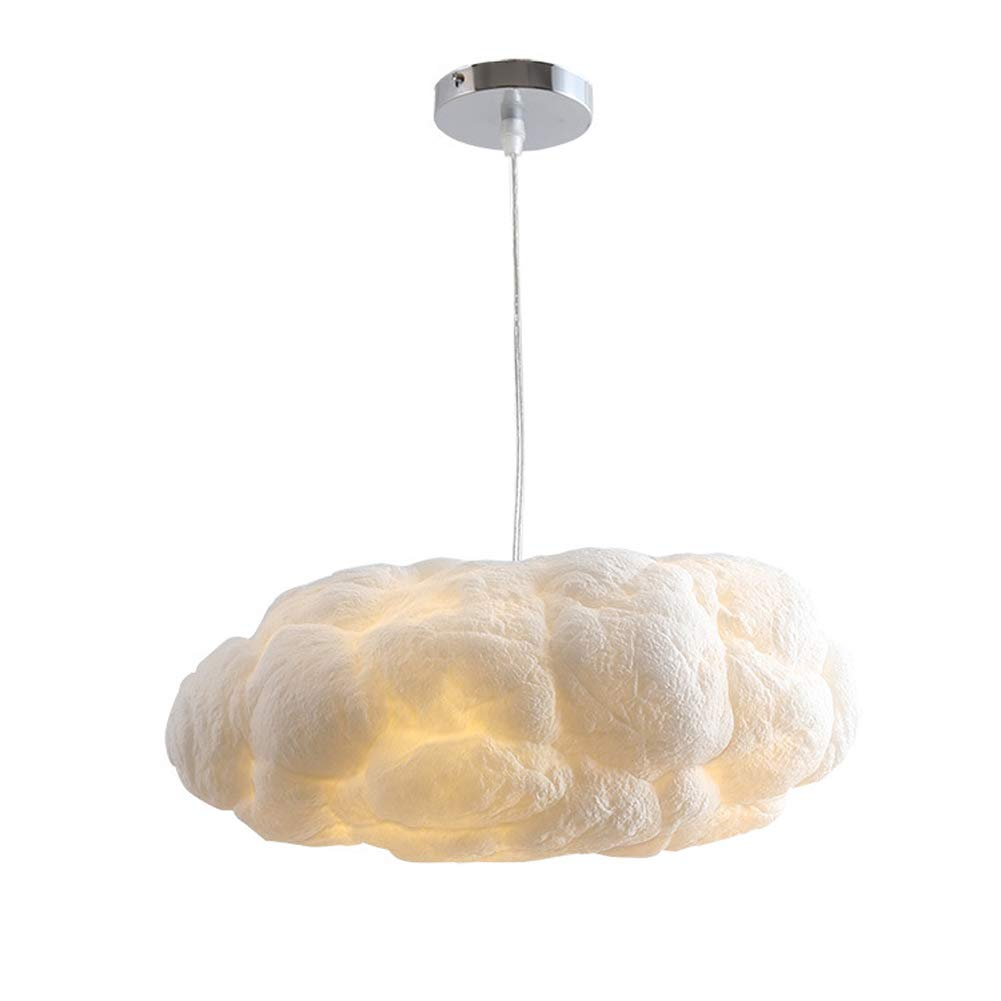HuiKai Modern Pendant Light Kreativer Wolkenleuchter Wolken Leuchter handgemäßhtes Wohnzimmer Restaurant Kinderzimmer Schlafzimmer,70  38cm