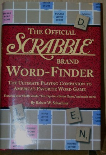 The Official Scrabble Brand Word-Finder     **ISBN: 9781579121044** (Scrabble Best Word Finder Board)
