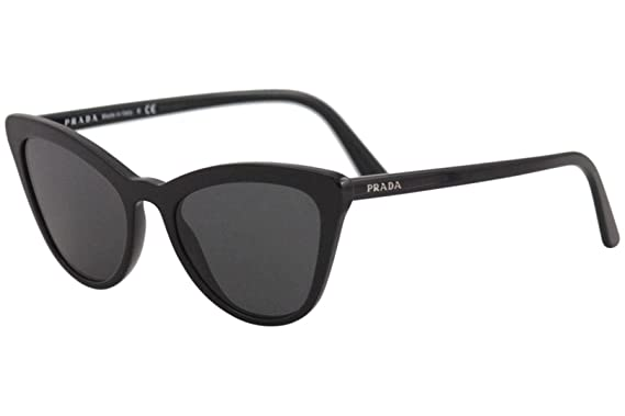 8a78405301d Amazon.com  Prada Women s 0PR 01VS Black Grey One Size  Prada  Clothing