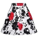 GRACE KARIN Print Mini Tutu Pockets Skirts For Little Girls 10-11yrs CL603-1