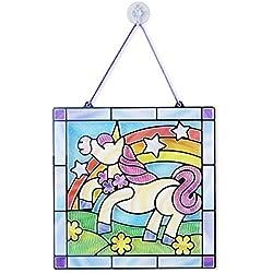 Melissa & Doug Stained Glass - Unicorn