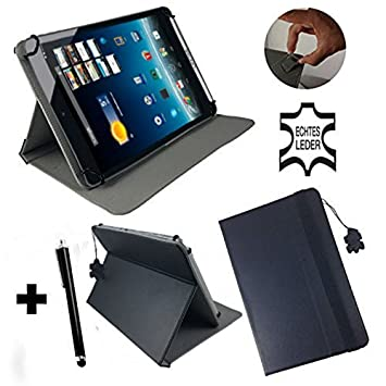 Funda de piel para Lidl Denver TAD-70112 70111 Tablet PC con Función Atril –