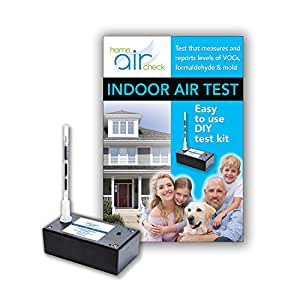 Home Air Check Indoor Air Quality Test for Sick Homes: VOCs (Volatile Organic Compounds), Mold, & Formaldehyde Qty. of 1