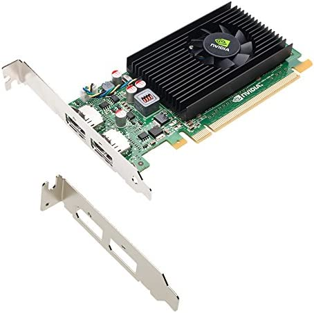 NVIDIA NVS 310 by PNY 512MB DDR3 PCI Express Gen 2 x16 DisplayPort 1.2 Multi-Display Professional Graphics Board